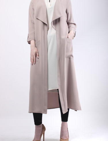 Nude Waterfall Coat