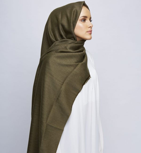Olive Drab Winter Hijab (Limited Edition)