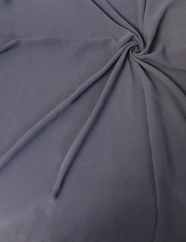 Pitch Blue Basic Georgette Hijab