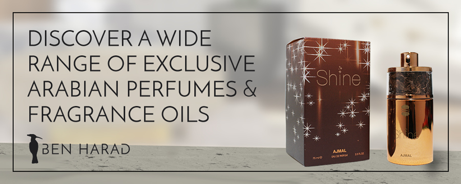 Discover a wide range of exclusive Arabian perfumes & fragrance oils Ben Harad - Modest Fashion