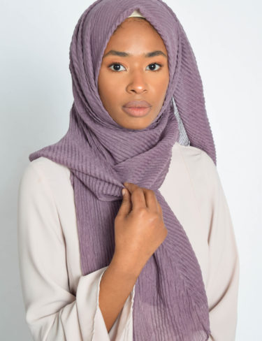 Old Lavender Wave Hijab