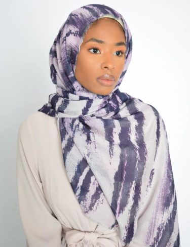 Purple Ombre Hijab