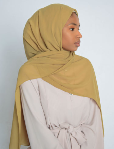 Antique Moss Luxury Chiffon Hijab