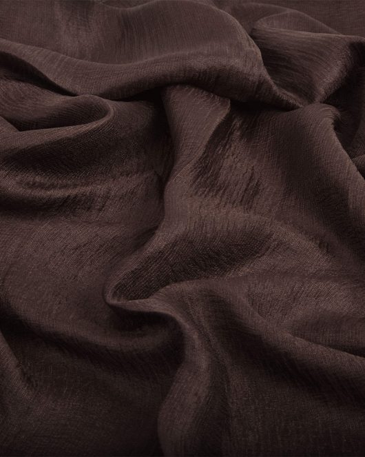 Brown Satin Silk Hijab