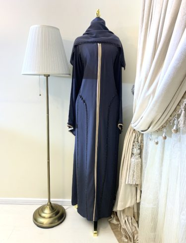 Classic Alanood Embroidered Abaya