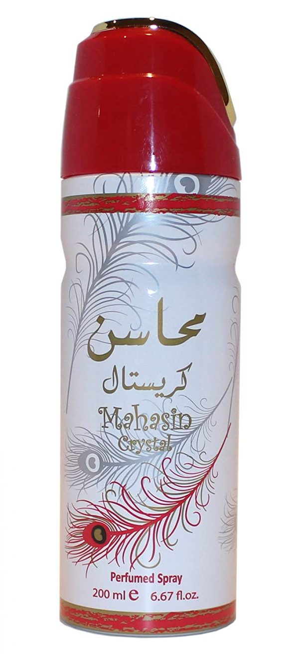 Mahasin Crystal – Deodorant Perfumed Spray 200 ml