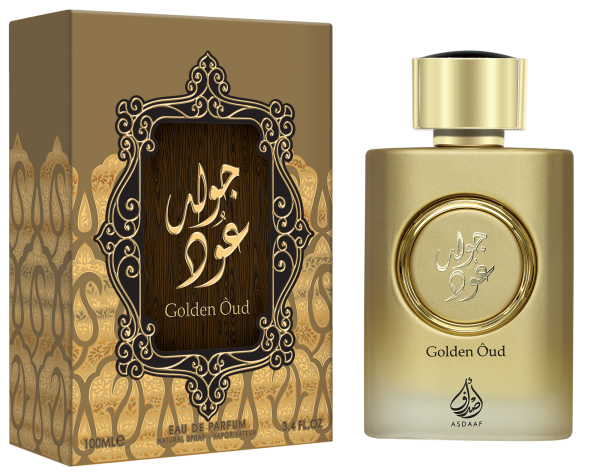 Golden Oud 100ml by Asdaaf Patchouli Vetiver Woody High Quality EDP