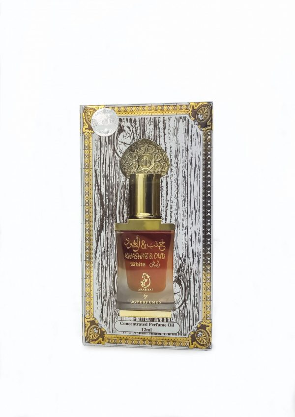 Khashab & Oud White Perfume Oil by My Perfumes 12ML