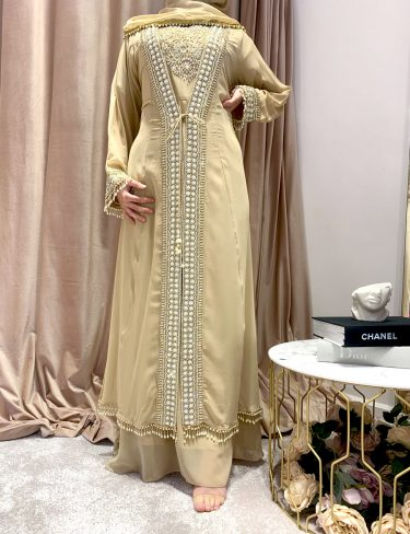 Swarovski Gold Luxury Kaftans