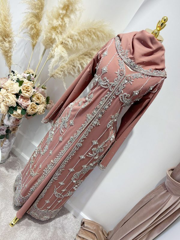 Swarovski Rose Pink Luxury Kaftans