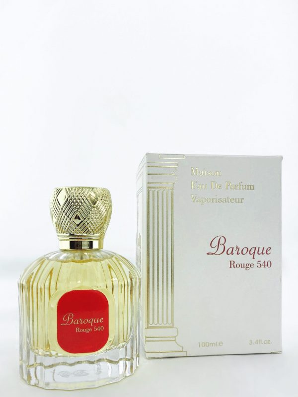 Baroque Rouge 540 Perfume 100ml by Alhambra Inspired by Baccarat Rouge